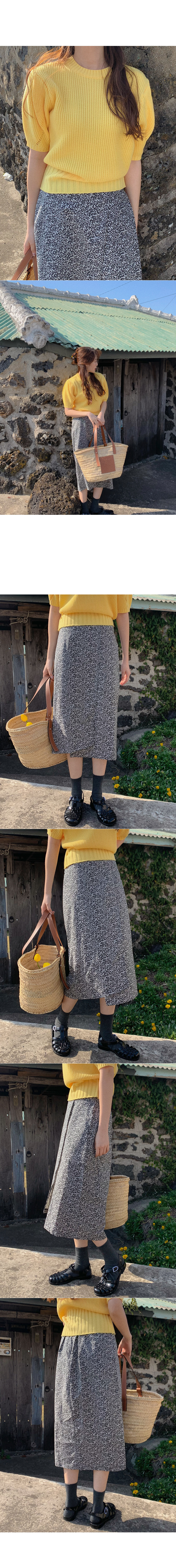 Basic Short Sleeve Knitwear
