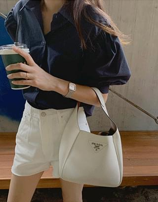 Erin puff blouse