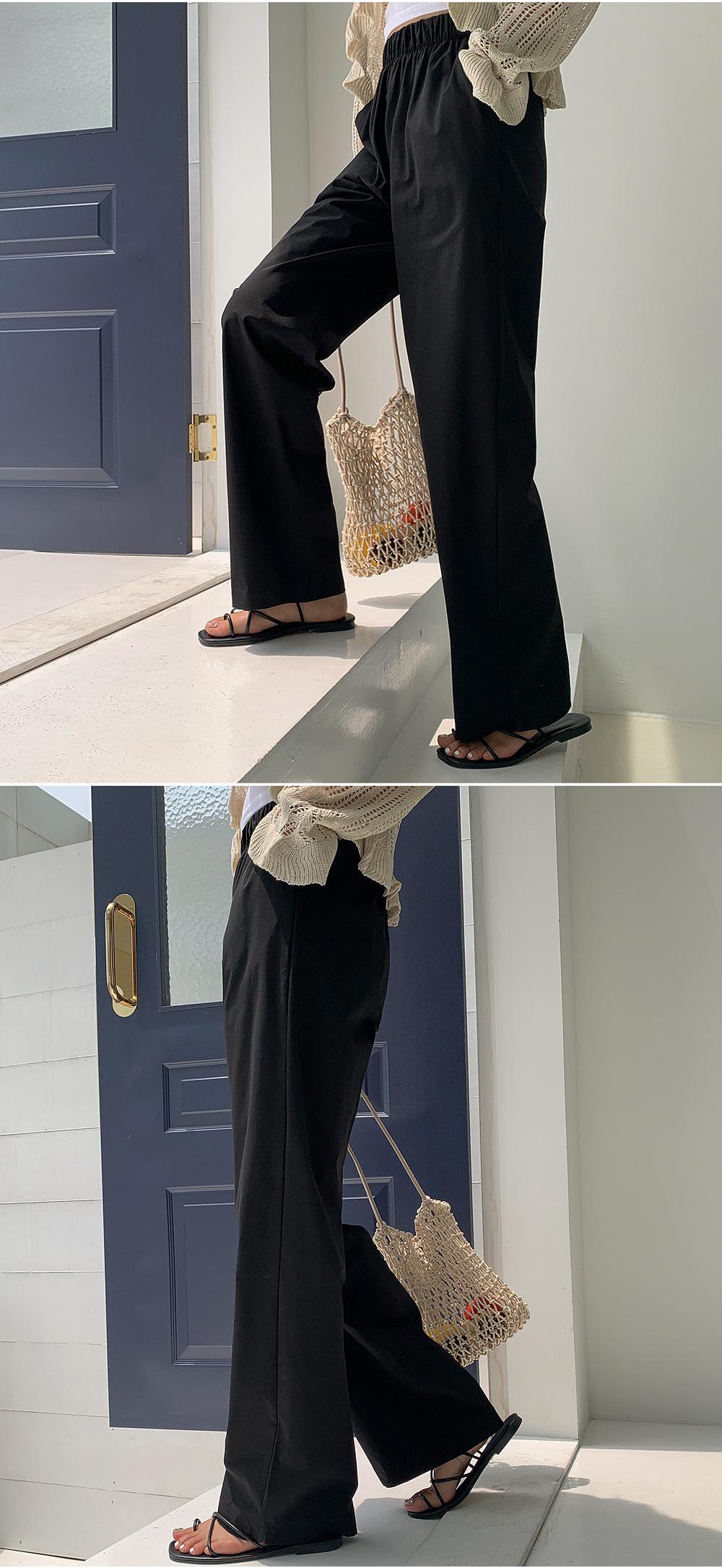 Wide Tech Band Pants
