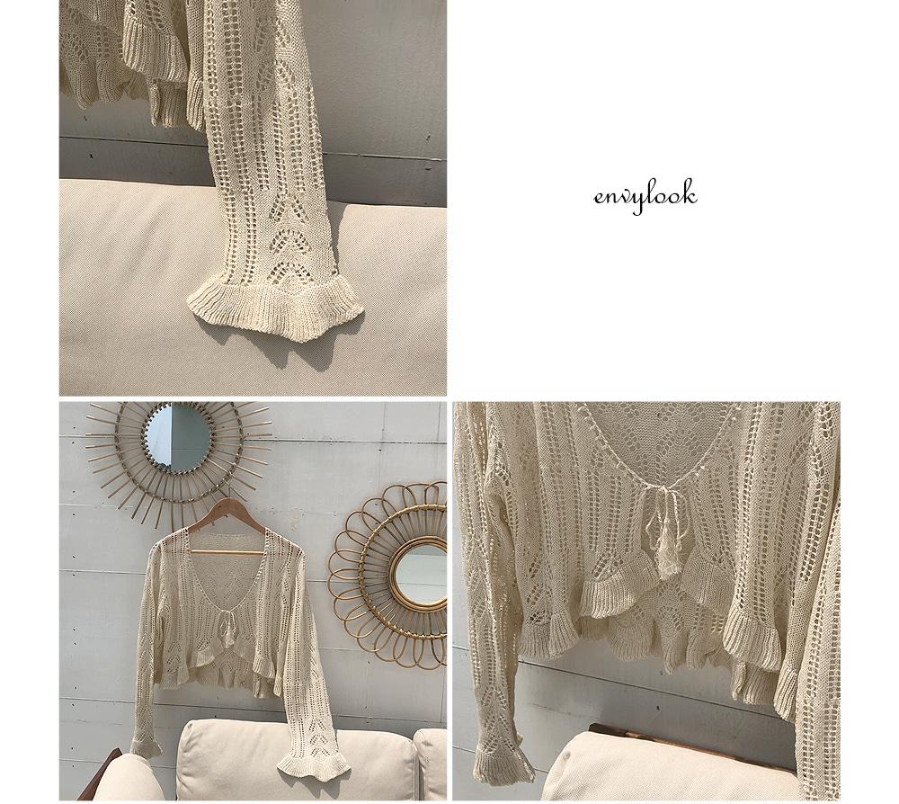 veil-needed cardigan
