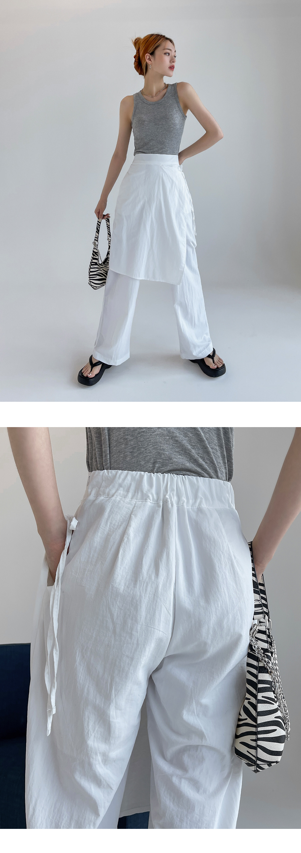 Philadel Banding Skirt Pants