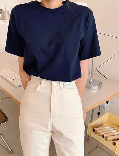 first plain short sleeve tee