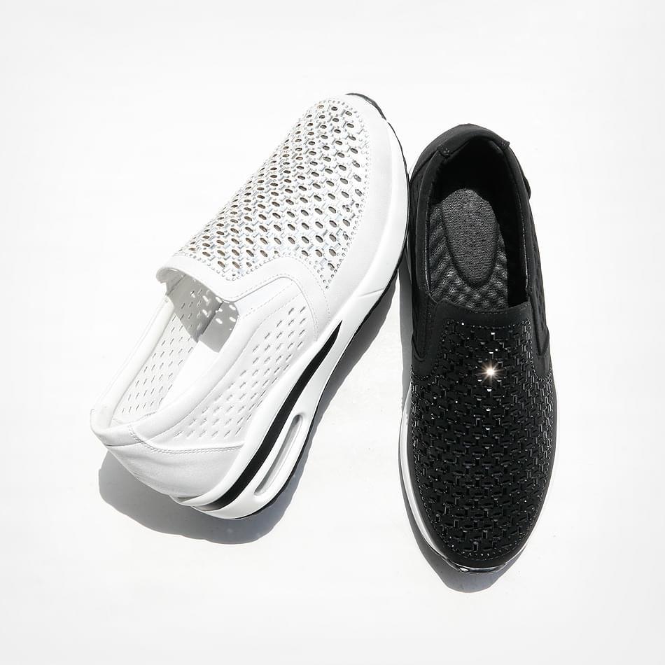Tone-up height air slip-on 5cm 球鞋/布鞋