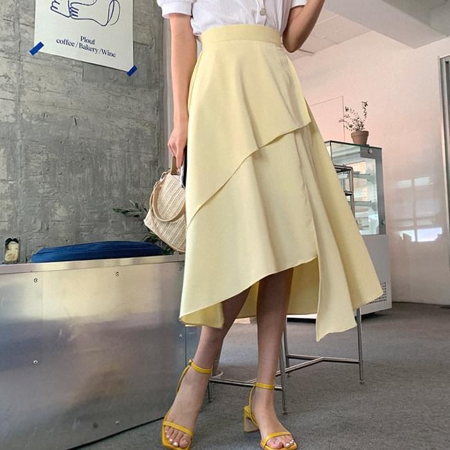 Little Confession Unbalance Skirt
