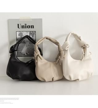 Pleated Point Shoulder Bag #86578