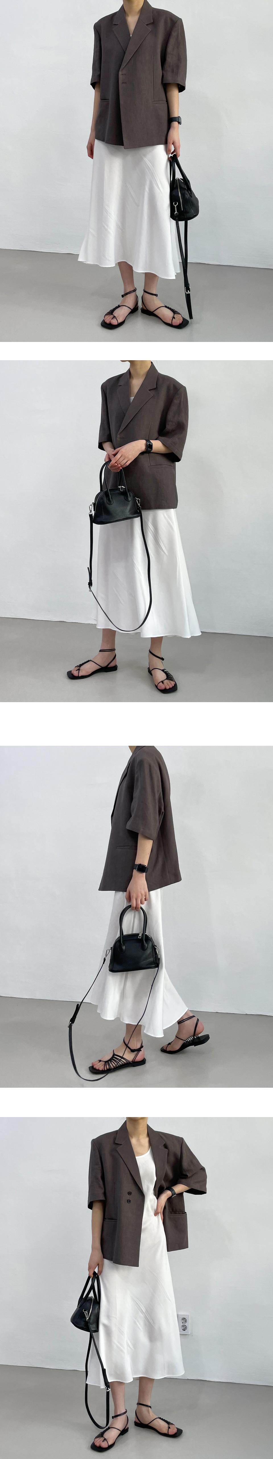 Modit Long Sleeveless Dress