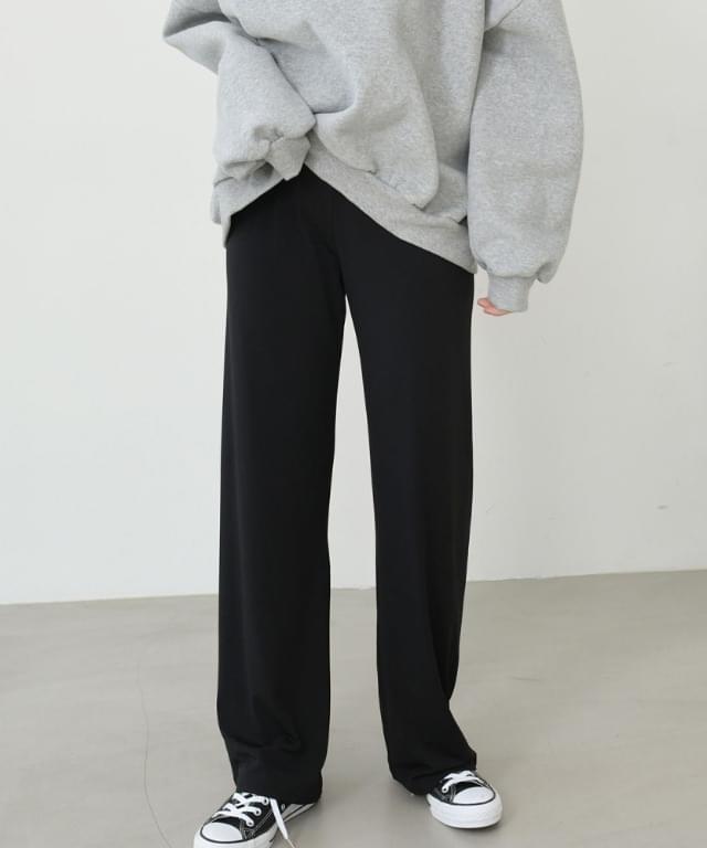 Big Size 26-34 Inch Lohan Fleece-lined Wide Banding Pants