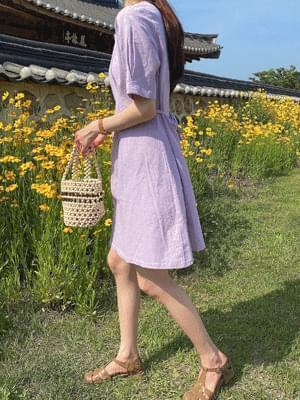 Mary Pintuck Dress