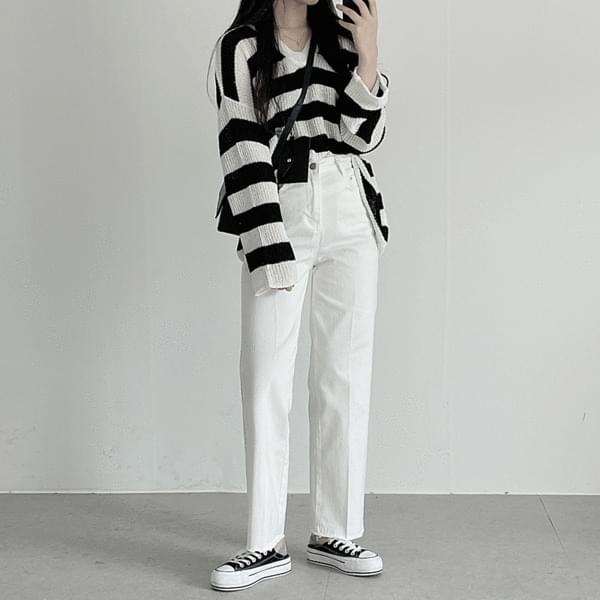 Daily slim tight cotton pants 長褲