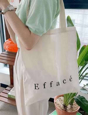Poring Lettering Eco Bag