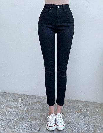 Brit Van Hai Sole Banding Slim Fit Cotton Trousers