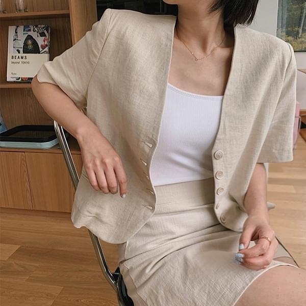standard short sleeve jacket