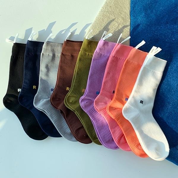 initial socks
