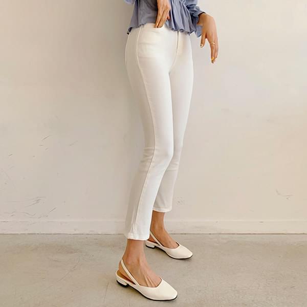 Wind-up Banding Cotton Pants