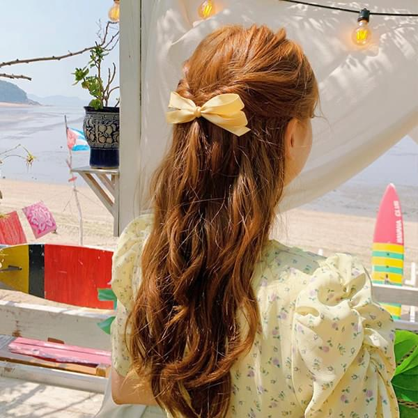 tinkerbell ribbon hairpin