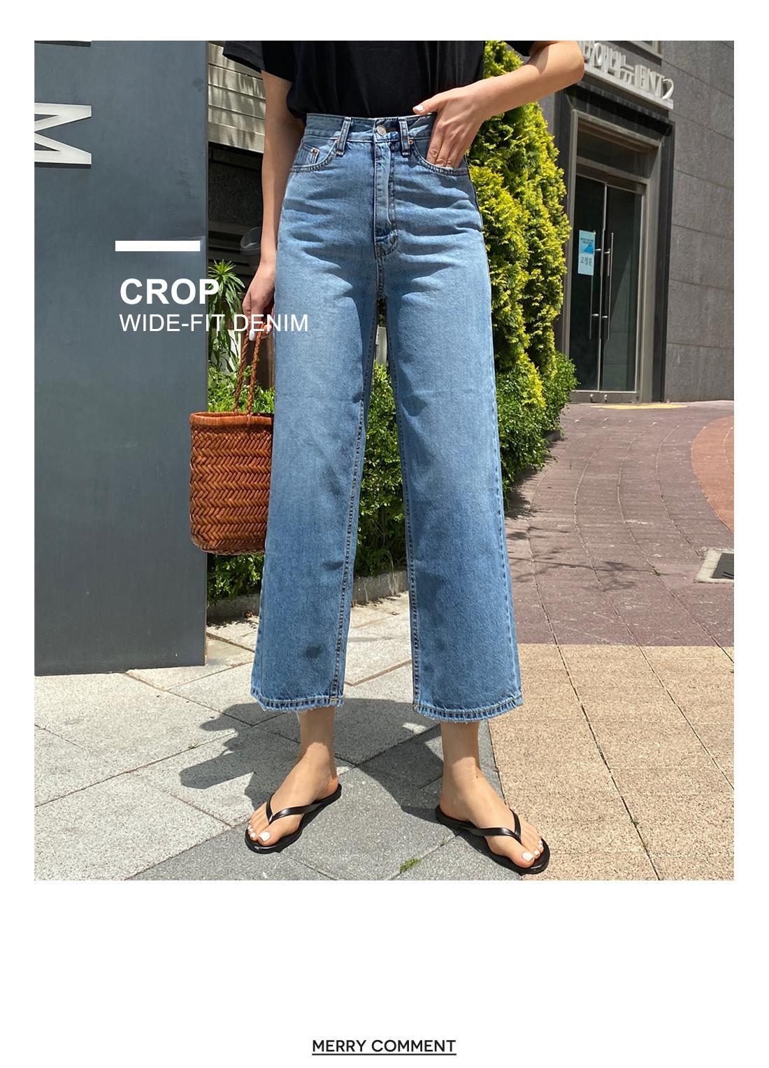 Avant Summer Crop Thong Jeans