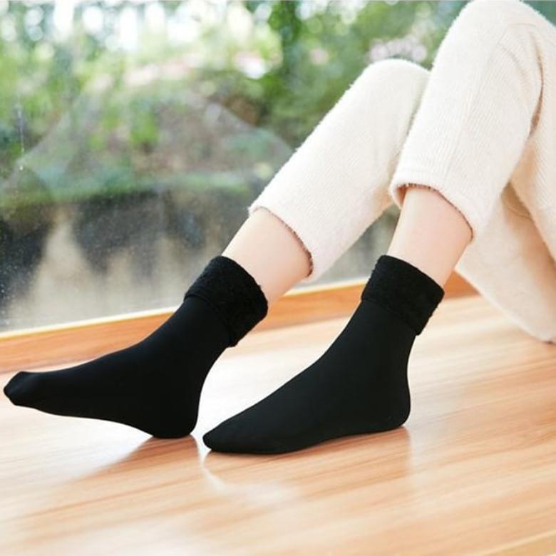 Zubi mink plain socks