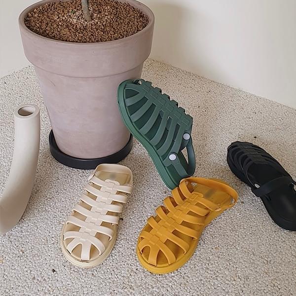 Platonic Jelly Sandals