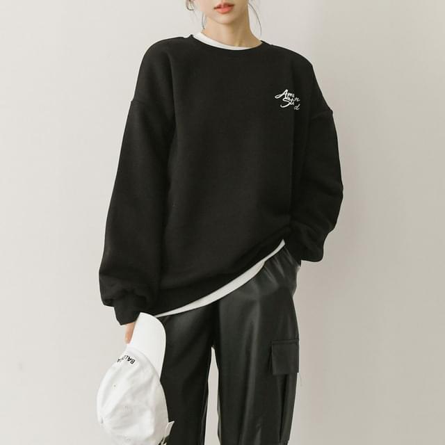 Color Berry Overfit Sweatshirt