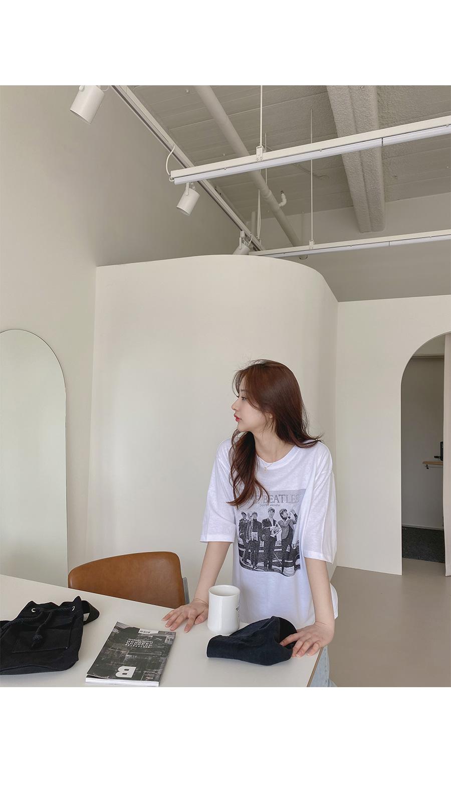 Big Size 55-99 The Light Overfit T-shirt