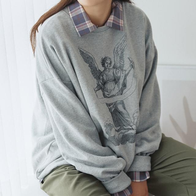 Human Greek Tattoo Sweatshirt
