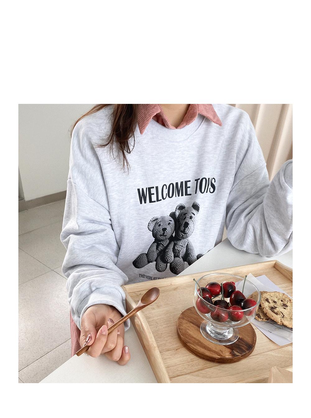 Big Size 55-99 gib Winnie Loose-fit jjuri Sweatshirt