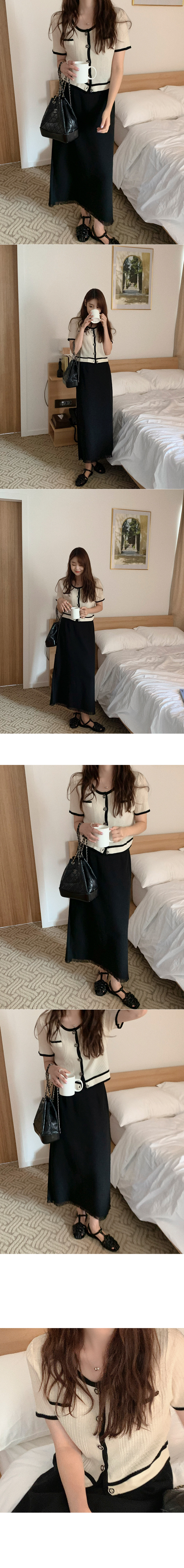 Missing surgery long skirt