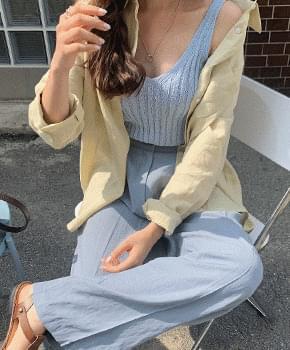 Peanuts Linen Shirt