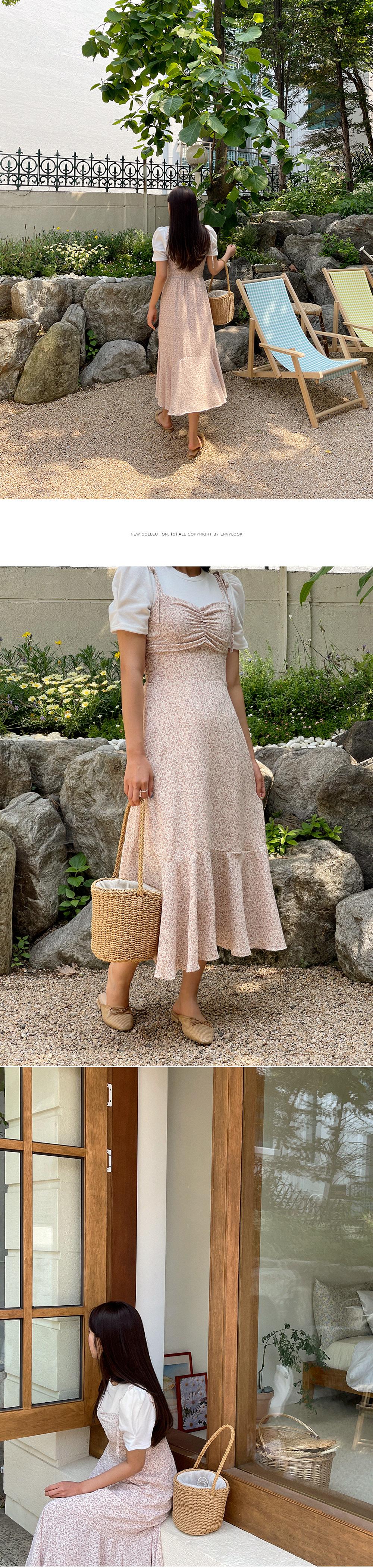 dining flower Dress