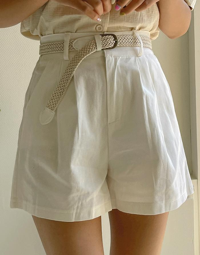 net belt shorts
