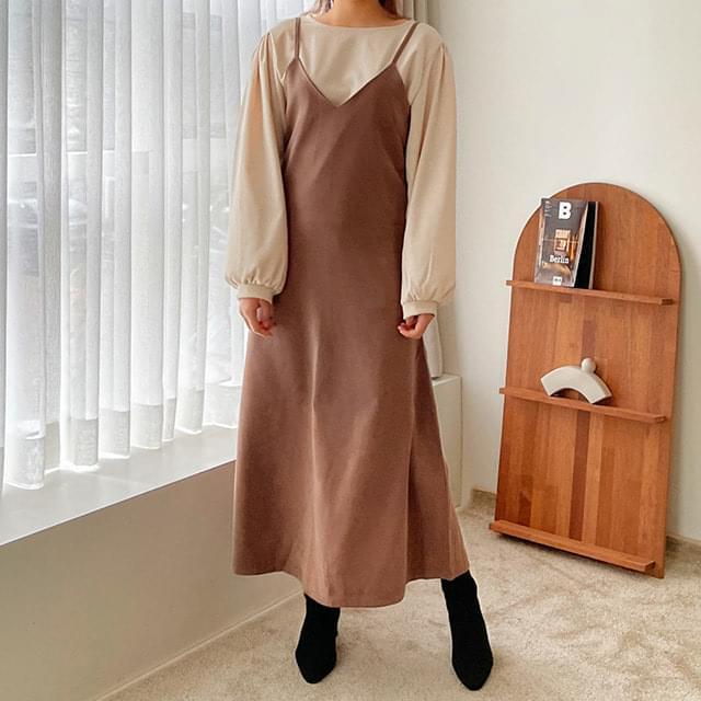 Big Size 55-77 Woody Bustier Long Dress