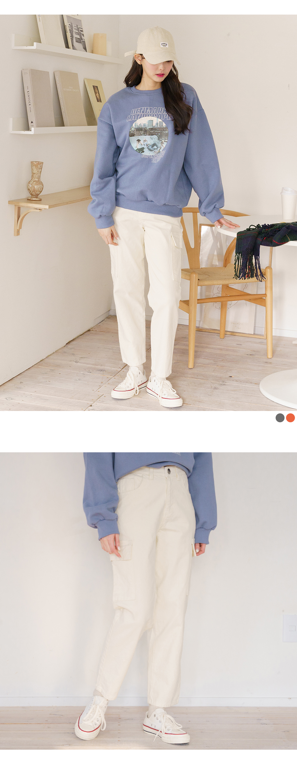 Big 26-38 Inch Shopper Straight Cargo Pants