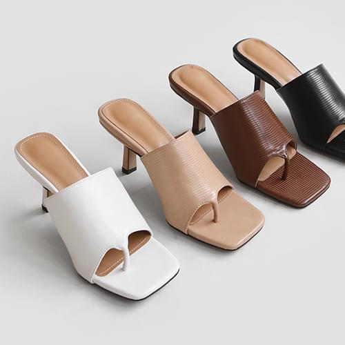 hoidi slit mules slippers