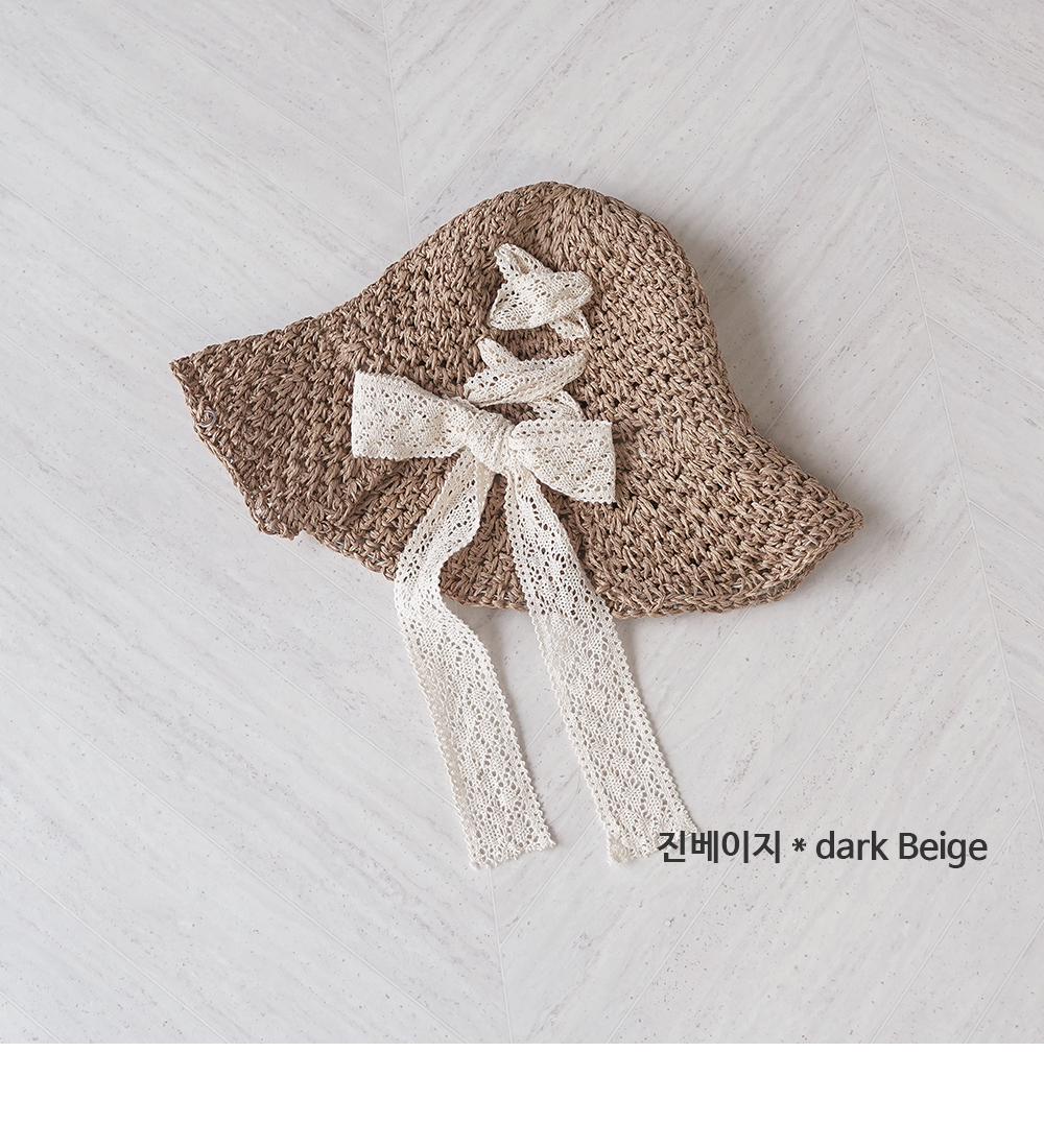 Treasure Ribbon Floppy Hat