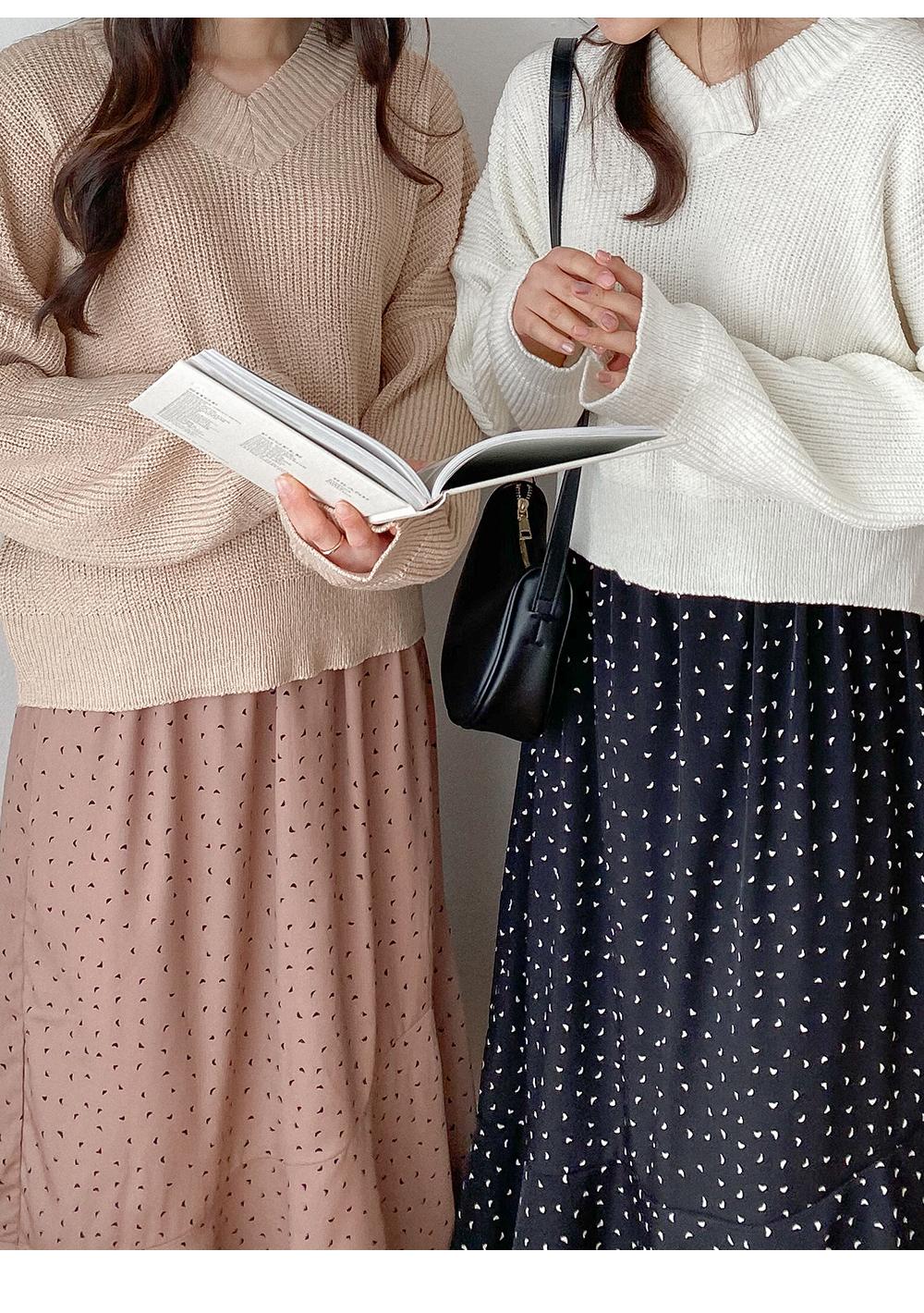 Big size 26-38 inch Windy diagonal ruffle banding long skirt
