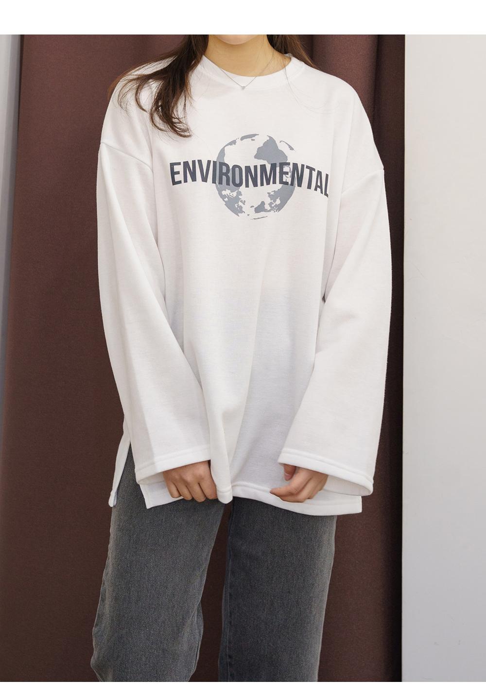 Big Size 55-99 Universe Long Sleeve T-shirt