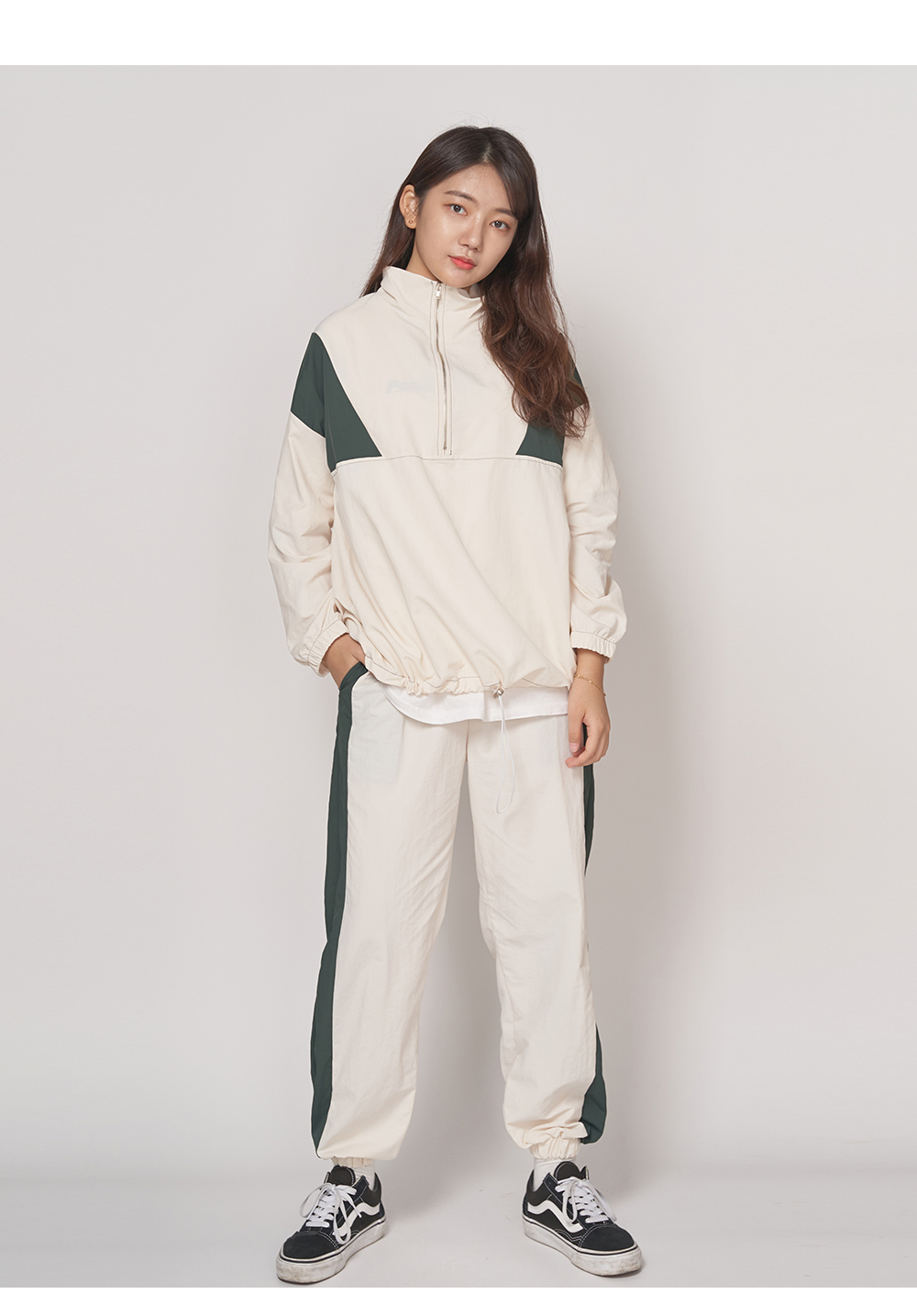 Color Matching Slanted Jurianorak Pants Big Size 28-36 inches