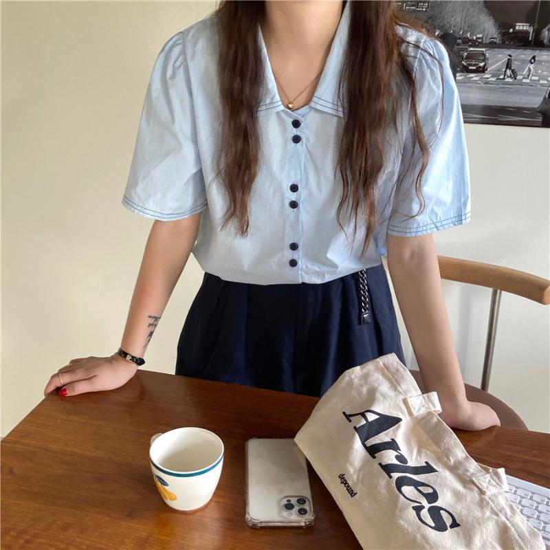 nb4926 hella stitch two button short sleeve shirt