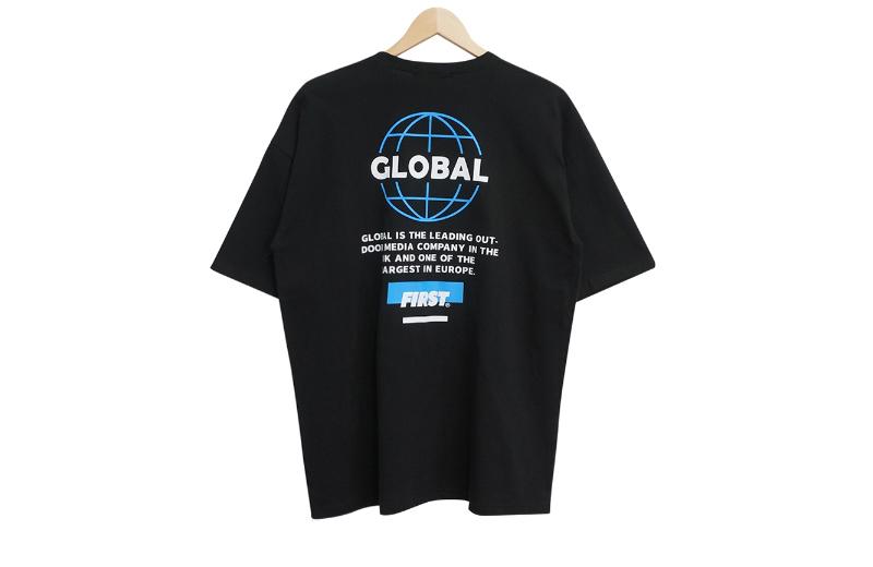 Global Back Lettering Short Sleeve Tee