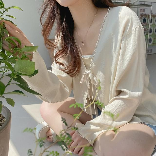 Big Size 55-77 From Daily Ribbon Cardigan