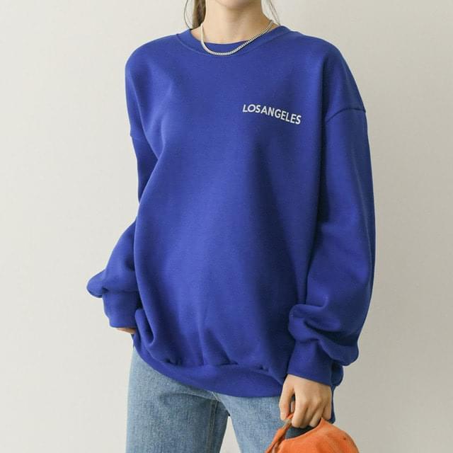 Ross lettering overfit Sweatshirt