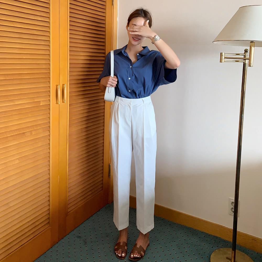 Wear Pin-tuck Pants