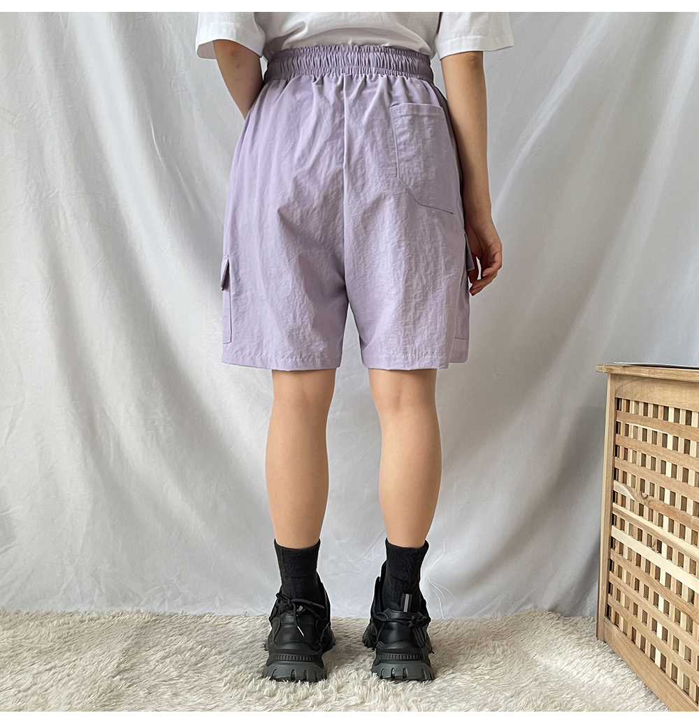 Big Size 26-34 Inch Windy Part 5 Wide Shorts