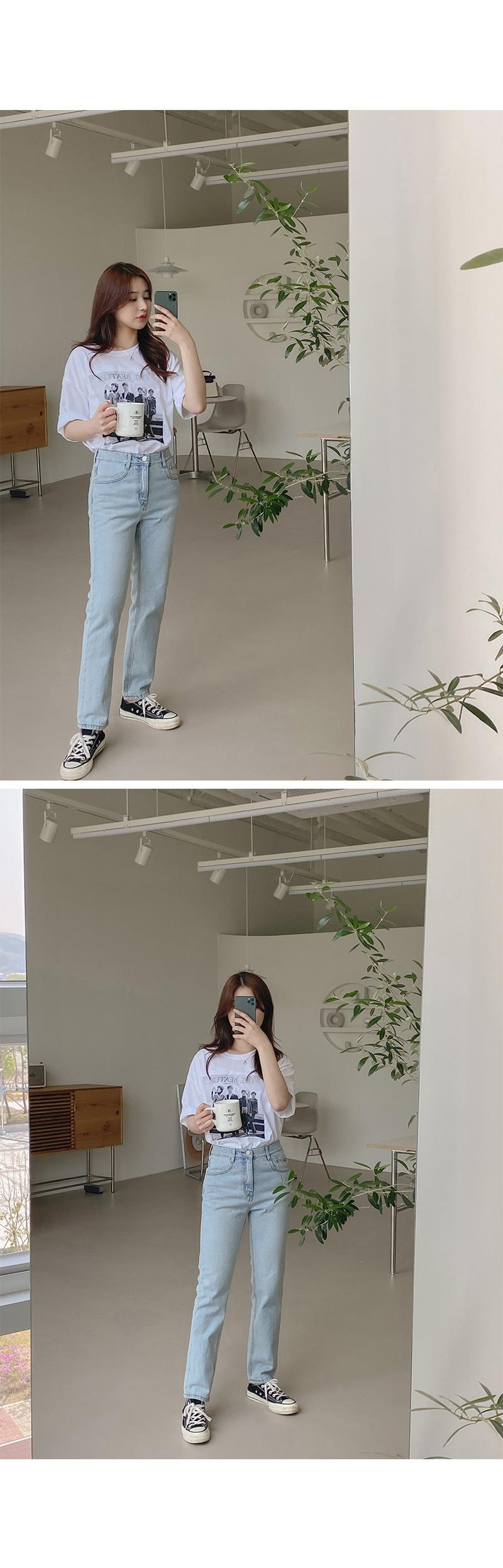Big 26-32 Inch Terra Faded Denim Straight Pants