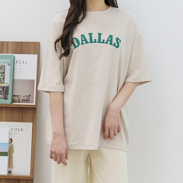 Big Size 55-99 DA Peach Box T-shirt