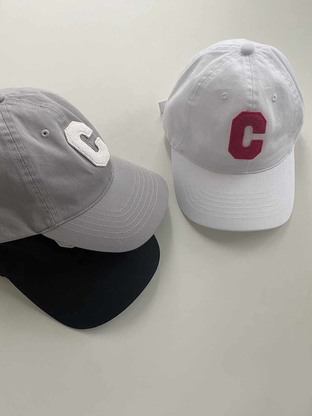 'C' embroidered ball cap