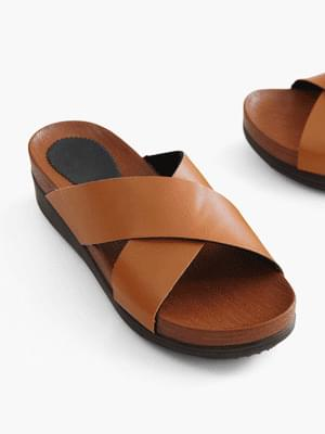 Mood-on wedge slippers 5cm
