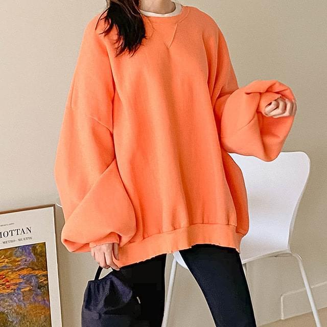 Beatles Boxy Fleece-lined Sweatshirt