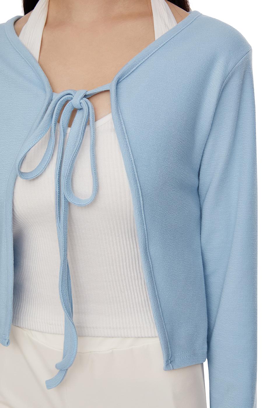 pastel string cardigan