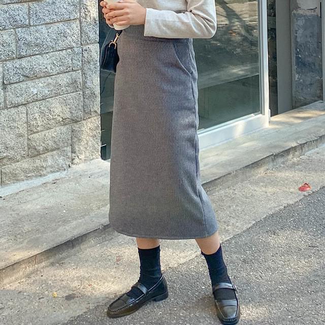 Ash Long H Skirt